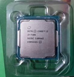 Processador Intel I3 - 7100 (Sem Cooler)