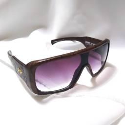 Óculos Solar Evoke Amplifier Leather Edition