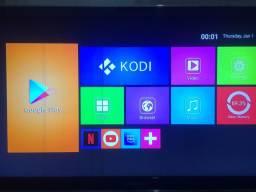 Aparelho tv box mx9 4k