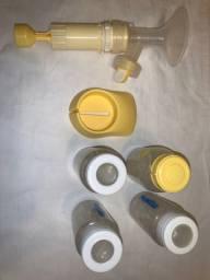Extrator manual de leite materno