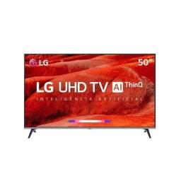 Vendo ou troco- tv smart led uhd LG 50'' para manutenção/retirada de peças