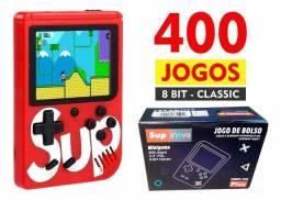 Super mini game portátil sup 400 jogos bolso retro clássico