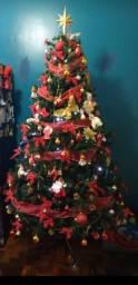 Árvore de Natal. 2,40 -Altura ? competa