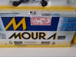Bateria Moura 95ah a base de troca com garantia de 15 meses instalado em seu carro