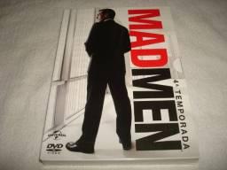 Dvd box mad men 4 temporada completa 4 discos nacional