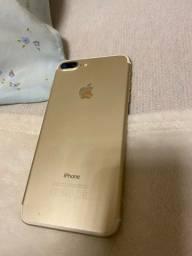 Iphone 7, PLUS, 128GB. Cor: Gold. Aparelho usado, mas muito conservado !!!