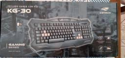 Teclado Gamer com fio Kg30