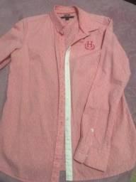Camisa Tommy Hilfiger Rosa clara