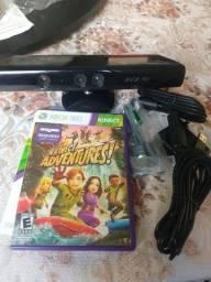Kinect Xbox 360 + jogo Kinect Adventures