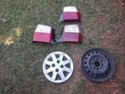 Lanternas original rodas e calotas