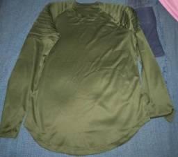 Camisa social masculina tamanhos P e M