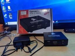 Título do anúncio: Conversor VGA pra HDMI