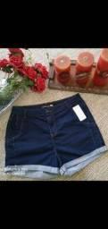 Short jeans com laycra tamanho 50