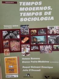 """Livro """"Tempos modernos, tempos de sociologia"""""""
