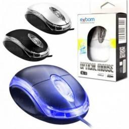 Mouse optico usb exbom