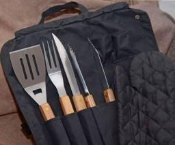 Kit churrasco usado somente 2 vezes!