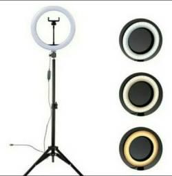 Ring Light 30cm 12 Polegadas + Tripé de 2 Metros