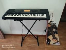 Vendo ou troco teclado profissional e violão