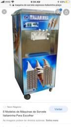 Maquina sorvete expresso