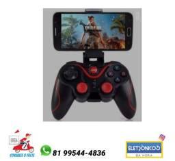 Controle Para Celular Bluetoth Tablet Tv Pc Para Jogos só zap