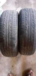 Pneus ,dois 185/65R15 pneus bons .e dois pneus 205/60R15 pirelli