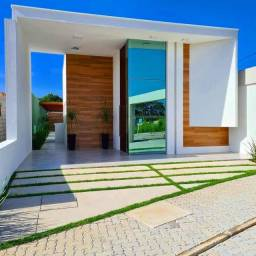Casa plana em residencial fechado, BAIRRO PLANEJADO, rua privativa