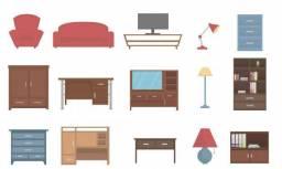 Vendo móveis todos conservados interessados chamar no *( itens em Cacoal)