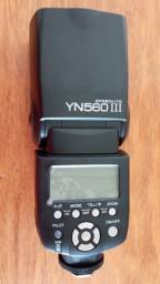 Flash Yongnuo Yn560 III Speedlite para Canon e Nikon