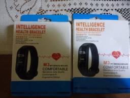 Smartband M3 marca passos batimentos cardíaco e pressão De 80 por 60