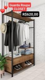 guarda roupas closet novos montagem gratuita