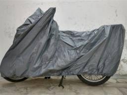 Capas cobrir motos forradas e impermeáveis, protege do Sol e da Chuva