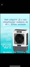Climatizador cadence de 45 litros