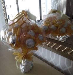 Bouquê de bombons de côco