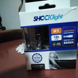 Lâmpada H1 Super Branca Shocklith