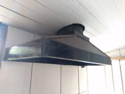 Coifa industrial (exaustor para cozinhas)