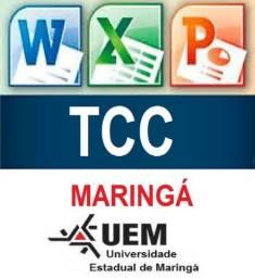 T C C - Consultoria Acadêmica - MARINGÁ - Artigo - Monografia.