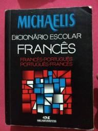 Título do anúncio: Dicionário Escolar Francês- Português/ Português -Francês Michaelis