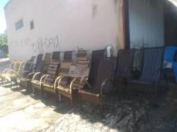 Cadeira de fibra promoção