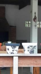 Vende-se Vasos de ceramicas pintados