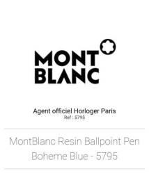 Caneta Mont Blanc Boheme com pedra de safira