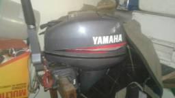 Yamaha 15 HP 2007 usado uma vez - 2007