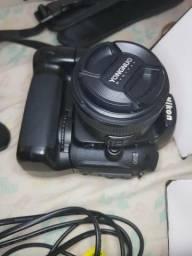 Urgente - Câmera D90 + lente 50mm + flash semi novo