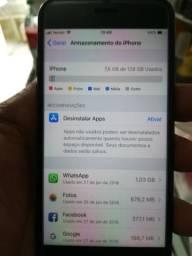 Vendo ou troco iphone 7 128 gb