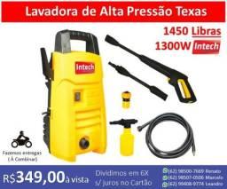 Lavadora de Alta Pressão Intech Machine Texas 1450 Libras e 1300W