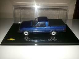 Miniatura Chevy 500 azul No. 17 Chevrolet Collection