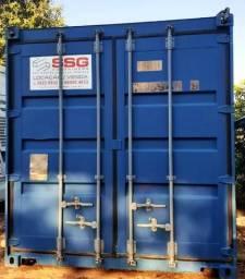 Locação Mensal de Container dry 20 pés 06 metros seco usado