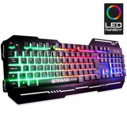 Teclado Gamer Usb Anti Ghost Semi Mecânico Led Wb 538 Xz 538