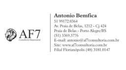 AF7 Consultoria Vende -Comércio de Metais e Sanitários Grande Porto Alegre / RS