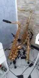 Saxofones sax alto , soprano e tenor
