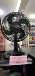 Vendo ventilador novo da Arno 30cm por 150 reais a unidade